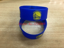 Free Shipping 50 pcs  Popular  Basketball Team Wristband Silicone Promotion Gift Filled In Color Bracelet  LQ-10