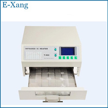 NEW Puhui T962 220V Reflow Equipment T-962 Infrared Reflow Furnace IC Heater, BGA Rework Station