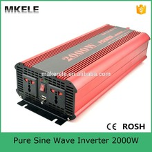MKP2000-122R high efficiency dc to ac pure sine wave power inverter 12v 220v 2000w power inverter for household(China)