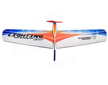 DW HOBBY Lighting 1060mm Wingspan EPP Flying Wing RC Airplane Training KIT(China)