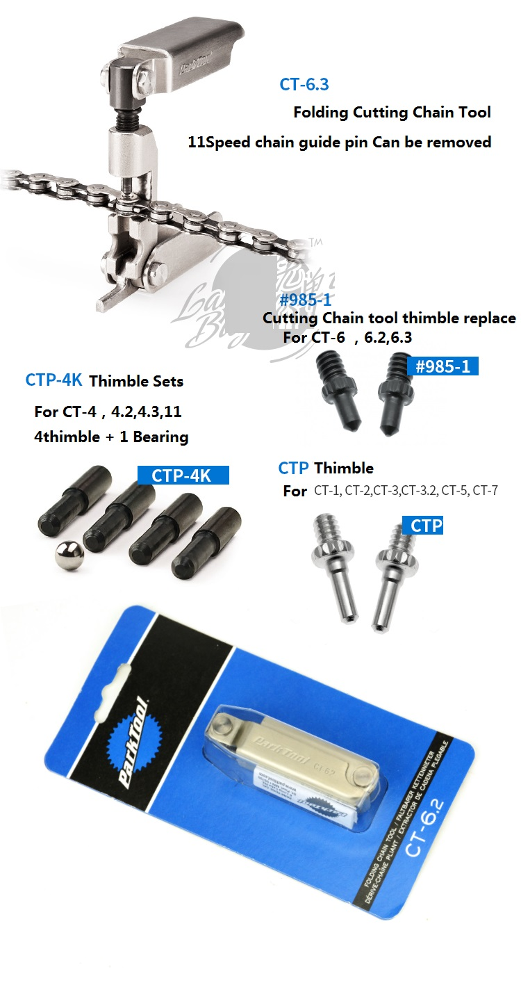 PARK TOOLS CTP-4K REPLACEMENT PIN FOR CT-4,,CT-11 CHAIN TOOL BIKE BICYCLE TOOL