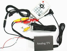 Car mobile Analog tv receiver TV BOX 9224 HOT Style, Car mobile Analog tv receiver, auto Analong Set top box, fast shipping(China)