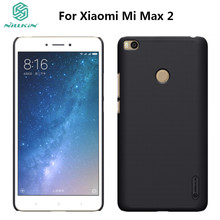 Xiaomi Mi Max 2 Case NILLKIN Super Frosted Shield For Xiaomi Max 2/Max2 PC Plastic Back Cover With Gift Screen Protector(China)