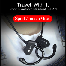 Sport Running Bluetooth Earphone For Apple iPhone 5S Earbuds Headsets With Microphone Wireless Earphones(China)