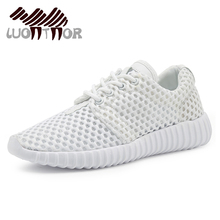 LUONTNOR white Sneakers Women Summer Mesh Running Shoes Breathable Cheap Female Shoes Sports Footwear zapatillas mujer(China)