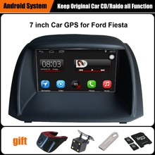 Upgraded Original Car multimedia Player Car GPS Navigation Suit to Ford Fiesta Support WiFi Smartphone Mirror-link Bluetooth(China)