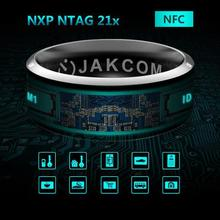 Original Smart Ring Wear Jakcom R3 R3F MJ02 New Technology Magic Finger NFC Ring for Android Windows NFC Mobile Phone(China)