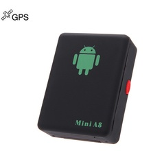 GPS Tracker A8 Mini Global Locator Personal Home Monitoring Children Old People Pet Car Motorcycle GSM/GPRS/GPS Traker Security