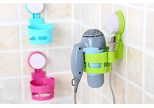 Hanging Dyadic Power-Grip Suction Cup Hair Dryer Holder Household Bathroom Storage Rack Organizer Accessory