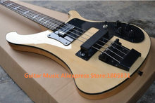 New Arrival Natural 4003 Electric Bass Black Hardware High Quality Best Selling Free Shipping