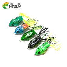 5pcs/lot 2016 New Style Soft Frogs 5.5CM 12G Fishing Lure Soft Plastic Fishing Lure Hooks Isca Artificial Fishing Tackle