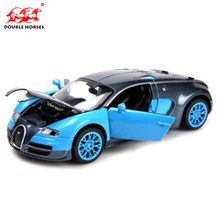 NEW MINI AUTO 1:32  Free Shipping Bugatti Veyron Alloy Car Models kids toys for children Metal Sound/Light/Pull Classical Cars