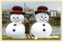Giant inflatable snow man for advertising/decoration/promotion christmas decoration free shipping(China)