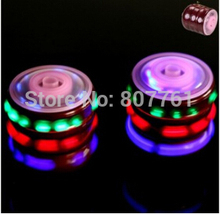 4D hot sale beyblade Best selling Hot LED Music beyblade metal fashion new mixed deliver SUPER GYRO Beyblade spin top toy 12 pcs(China)