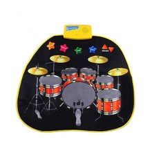 70.5X65cm Multifunction Baby Play Crawling Mat Electronic Baby jazz drum music Game Mats Toys(China)
