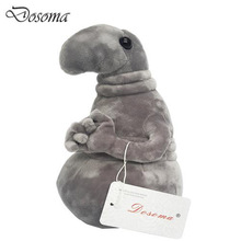 Waiting Plush Toy Zhdun Meme Tubby Gray Blob Zhdun Toy Snorp Plush Doll Toys Pochekun Homunculus Loxodontus Zjhdun Toy Plush