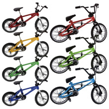 Mini Bicycle Model Functional Finger Mountain Bike BMX Fixie Bicycle Cycling Creative Game Child Toy Gift