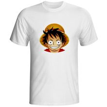 Popular Famous Anime Character Avatar Designed One Piece Sword Dragon Ball Fairy Naruto Vampire Funny T-Shirt Boys White T Shirt(China)