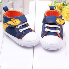 Baby Shoes Giraffe Canvas Anti-slip Infant Soft Sole Baby First Walker Toddler Shoes