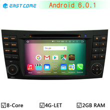 4G Octa Core Android 6.0.1 1024*600 For Mercedes Benz E G Class W209 W211 W219 W463 GPS Navigation Car DVD Player Stereo Radio(China)
