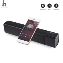 JKR KR-1000 Wireless NFC Bluetooth Speaker 20W Subwoofer Stereo Box Portable Loudspeaker Column Super Bass for computer phone(China)