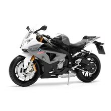 S1000RR 1:12 White gray motorcycle model 1:12 scale metal diecast models motor bike miniature race Toy For Gift Collection