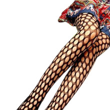 Hot Marketing Women Black Sexy Fishnet Pattern Jacquard Stockings Pantyhose Tights for lady WJul4 Drop Shipping
