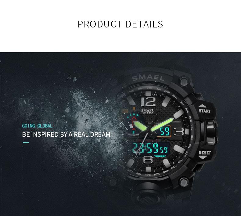 4 military army quartz wrist watch