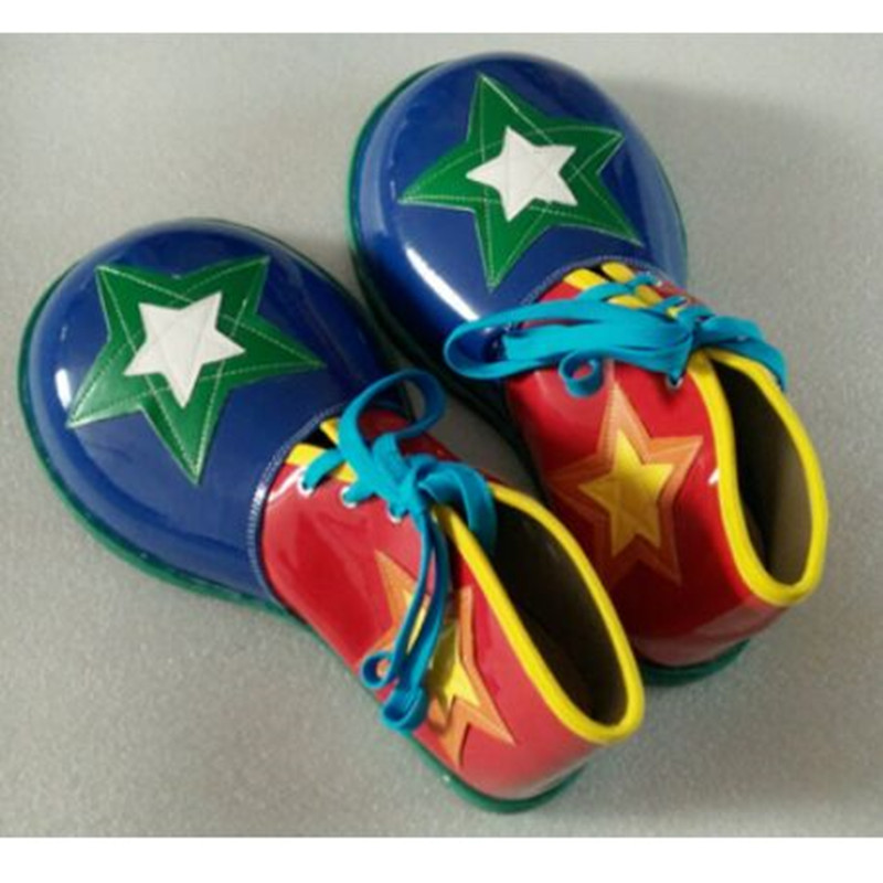 free size big clown shoes for adults clown cosplay accessories funny shoes halloween cosplay clown party