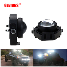 GEETANS 2pcs/Lot Car Spot/Flood Worklight Head Lamp Truck Motorcycle Off Road Fog Lamp Tractor Car LED Headlight Work Lights BH(China)