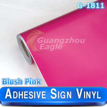 1.06 x 33 m Glossy Blush Pink Gloss Cutting sign vinyl/plotter vinyl sheets vinyl roll Free Shipping