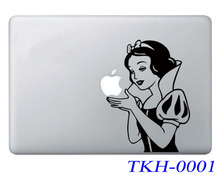 Snow White Cartoon Laptop Sticker Vinyl Decal Skin For Apple Air Pro Retina 11 12 13 15 Macbook Stickers For Mac book 13.3 inch