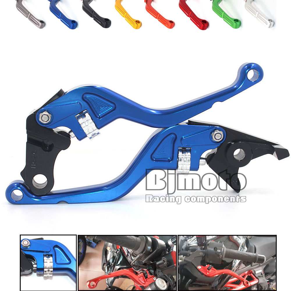 Motorcycle Adjustable Motorbike Brakes Clutch CNC Levers For Yamaha FZ1 FZ6 FAZER FZ6R MT01 MT07 MT09 XJ6 DIVERSION<br><br>Aliexpress