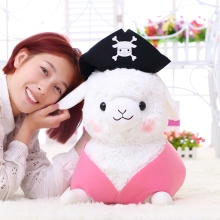 1pc 30cm Lovely Pirate Sheep Plush Toy Stuffed Creative Alpaca Plush Doll Birthday Gift Kids Toy