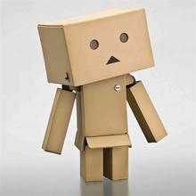 1PCS Japanese anime New Lovely Danboard Danbo Doll Mini 2 Style 8cm PVC Action Figure Toy with LED light