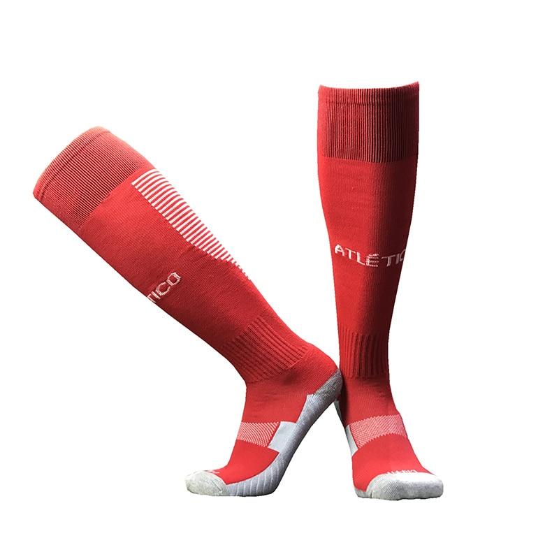 NO Logo National Team Germany Football Barreled Knees Slip Bottom Thick Stocking Spain Soccer Socks Compression Socks 25