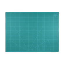 "PVC A2 Cutting Mat 18""x24"" Multipurpose Self Healing Cutting Mats for Quilting Double-Sided 5-Ply Durable Paper Mat for Cutting(China)"