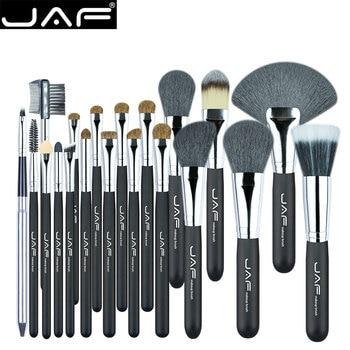 Jaf 20 unids/set pinceles de maquillaje de pelo natural de maquillaje cepillo conjunto cosmético profesional compone el cepillo herramientas kits j2001py-b