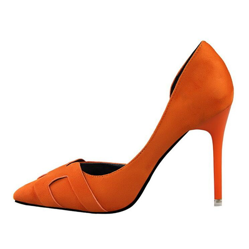 retro women high heeled office shoes pointed toe hollow party wedding shoes stiletto Roman style woman pumps scarpin XK011303<br><br>Aliexpress