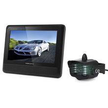 Wireless Parking Camera Car Rear View Roof Monitor For Auto Rear-View Camera With Monitor Night Vison 7 Inch LED Screen Display