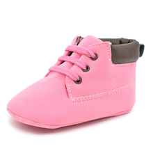 0-2Year Breathable Fashion Baby Girls Shoes New Design Infant Martin Boots Toddler Girls Princess Fist Walkers Shoes Sneaksers