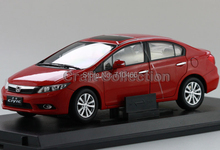 Red 2011 Honda Civic 9 Diecast Model Show Car Miniature Toys