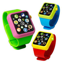 Kids Baby Educational Smart Wrist Watch Early Learning 3DTouch Screen Music Toy(China)