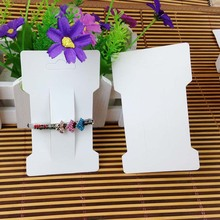 Wholesale Free Shipping  Hot 2015 New White  Hair Clip Card Jewelry Display Card If Custom Logo Will Cost Extra