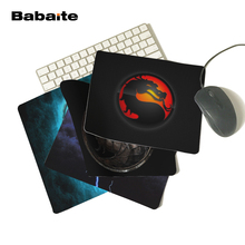 Babaite New 2017 Mortal Kombat Logo Mouse Pad Laptop Computer Gaming Mouse Pad Gamer Accessories