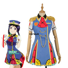 Love Live Sunshine Aqours Happy Party Train Nyamazing Matsuura Kanan Uniform Dress Coat Shirt Outfit Anime Cosplay Costumes