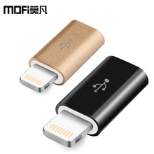 MOFi android micro usb male to lightning 8 pin for apple iPhone adapter 7 plus 5s se 6 6s usb convert fast charging for iPad iso
