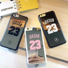 Mirrorr Cell Phone Cases for iphone 5 5s se 6 6s Plus Player Star Michael Jordan 23 Fundas Hard Back Cover Shell(China)
