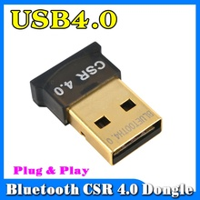 2017 New Mini USB Bluetooth Dongle Adapter V4.0 Dual Mode Wireless Dongle CSR 4.0 For Windows 10 Win 7 8 Vista XP Laptop