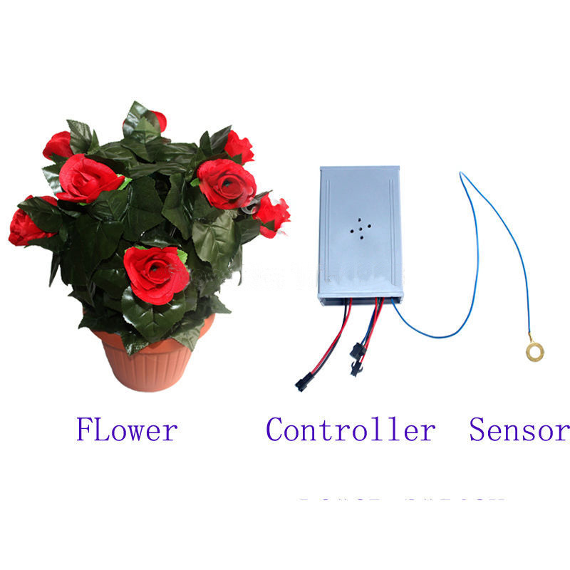real-life-room-escape-prop-amazing-flower-props-keep-on-touching-the-sensor-flower-blooming-out (2)